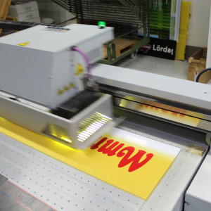 Uv-printer, planprinter Storformat